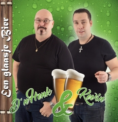 D'n Henk & Kevin - Een glaasje Bier  CD-Single