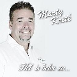 Marty Kreté - Het is beter zo  CD-Single