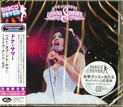 Donna Summer - Live and More Ltd.  CD