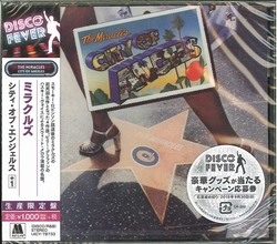 The Miracles ‎- City Of Angels Ltd.  CD