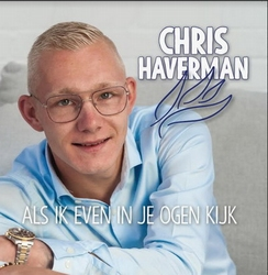 Chris Haverman - Als ik even in je ogen kijkt  CD-Single