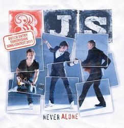 3JS - never alone  3Tr. CD Single
