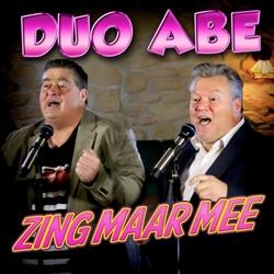 Duo Abe - Zing Maar Mee  CD-Single