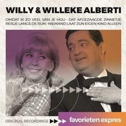 Willy & Willeke Alberti - Favorieten Expres  CD