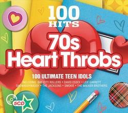 70s Heart Throbs - 100 hits  CD5