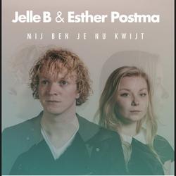 Jelle B & Esther Postma - Mij Ben Je Nu Kwijt  CD-Single