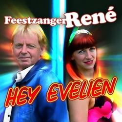 Feestzanger René - Hey Evelien  CD-Single