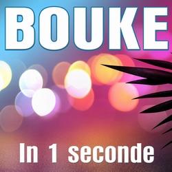 Bouke - In 1 Seconde  CD-Single