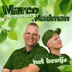 Marco Krasenberg ft Dj Madman - Jij bent het bewijs  CD-Single