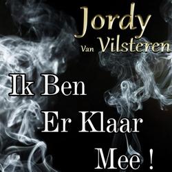 Jordy van Vilsteren - Ik ben er klaar mee  CD-Single