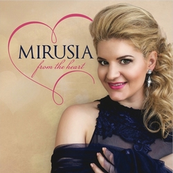 Mirusia - From the Heart  CD