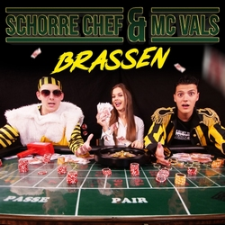 Schorre Chef & MC Vals - Brassen  CD-Single