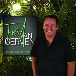 Fred van Gerwen - Leven hier met jou  CD-Single