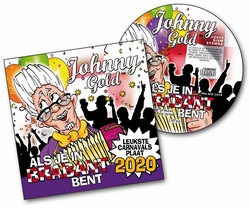 Johnny Gold - Als je in Brabant bent  CD-Single