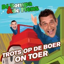 DJ Bompa & De Mens - Trots Op De Boer On Toer  CD-Single