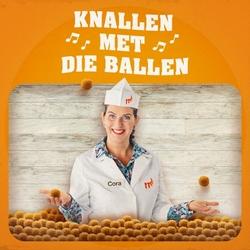 Cora van Mora - Knallen Met Die Ballen  CD-Single