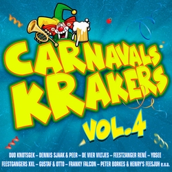 Carnavals Krakers Vol.4   CD