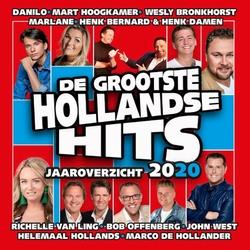 De Grootste Hollandse hits Jaaroverzicht 2020  CD