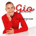 Gio - Ga ik met je mee  CD-Single