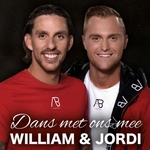 William & Jordi - Dans met ons mee  CD-Single