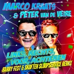 Marco Kraats & Peter vd Veire - Links, Rechts, Voor, Achtere  CD-Single